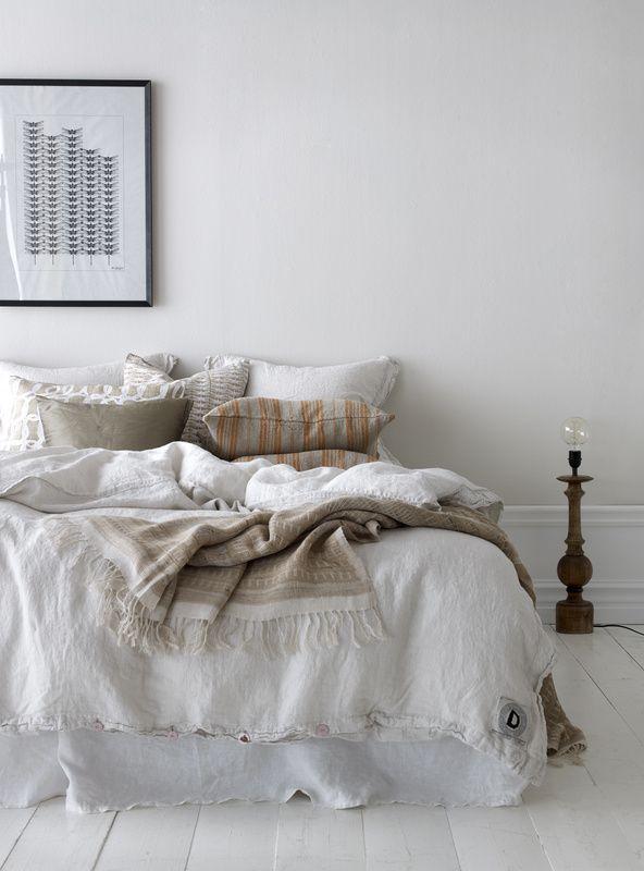 makuuhuone,juliste,lakanat,tyyny,kevät