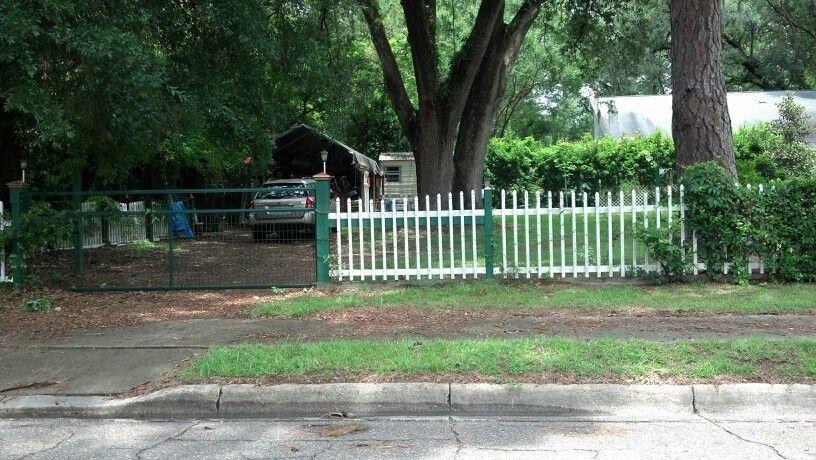 Half fence idea