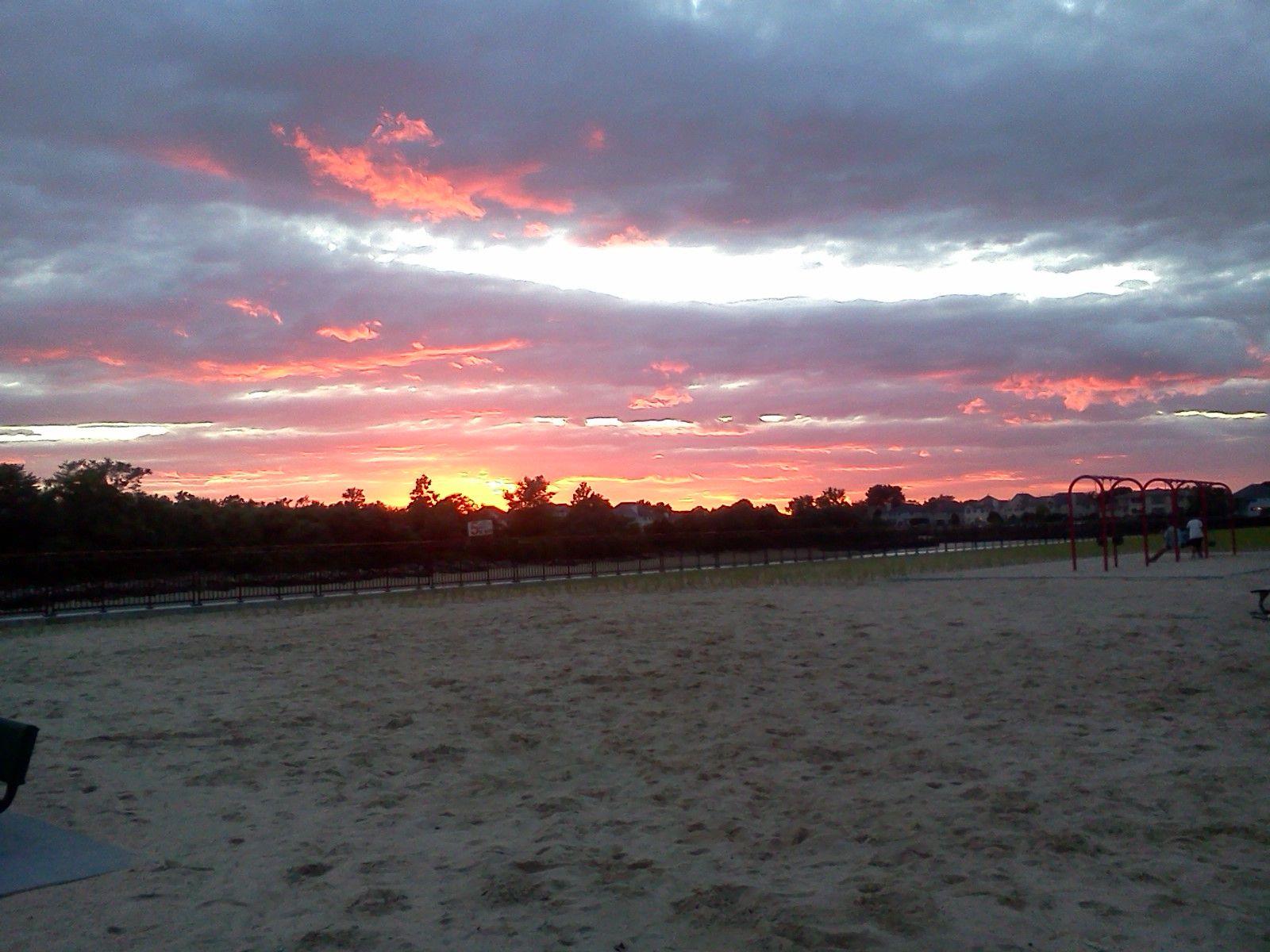Florence Ave Beach Massapequa Ny Sunset 6 26 12 Scenery Sunset Beach