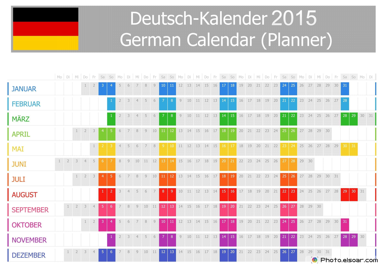 Deutsche Kalender 2015 Kostenlos Downloaden - German