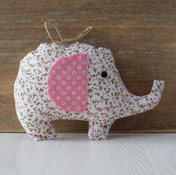 Pink floral hanging elephant decorationcot mobilenew baby gift pink floral hanging elephant decorationcot mobilenew baby giftgifts for girls negle Image collections