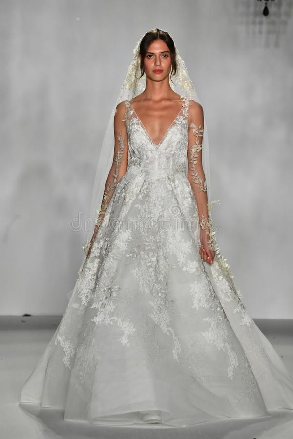 A model walks the runway during the Anne Barge Bridal 20th Anniversary 2020 Runw , #spon, #Barge, #Bridal, #Anne, #model, #walks #ad #20thanniversarywedding A model walks the runway during the Anne Barge Bridal 20th Anniversary 2020 Runw , #spon, #Barge, #Bridal, #Anne, #model, #walks #ad #20thanniversarywedding