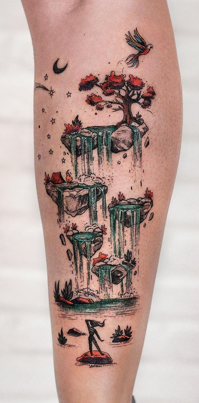 Photo of Robson Carvalho turns his beautiful drawings into magical tattoos, #