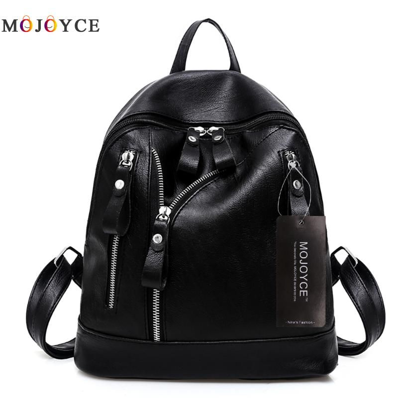 088cb7a6693 DAVIDJONES Women Backpacks Women's PU Leather Backpacks Female ...