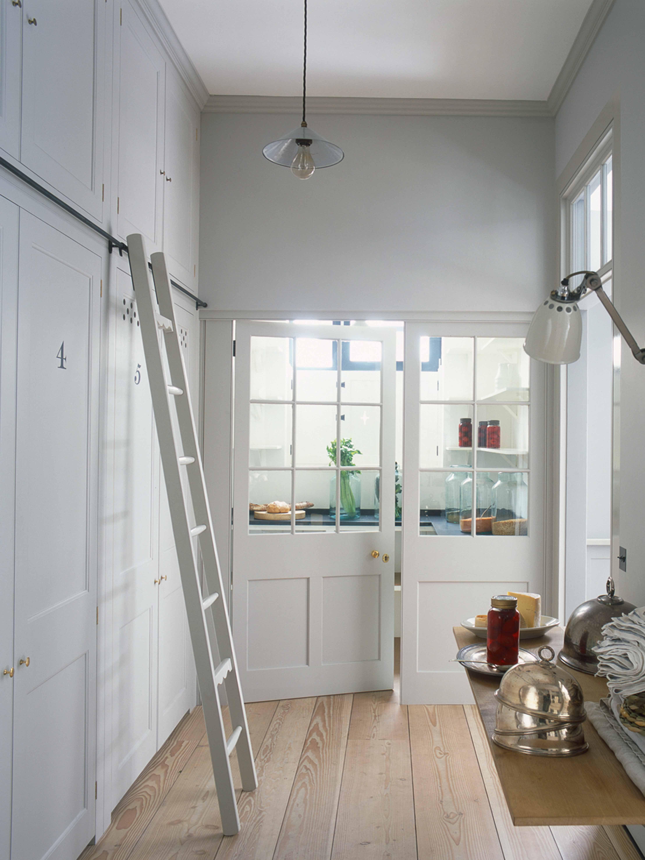 Plain English Pantry With Wood Glazed Screens Www.plainenglishdesign.co.uk