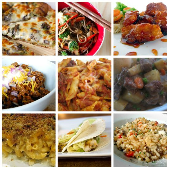 Top 10 Favorite Main Dishes