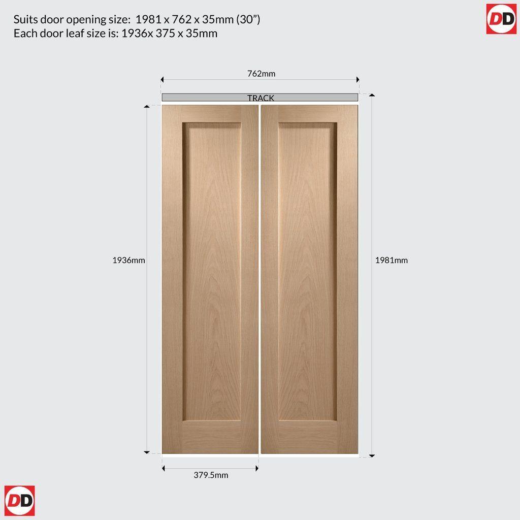 Interior Pattern 10 Oak Bi Fold Panel Door Panel Doors Door Fittings Interior