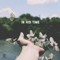 In His time, in His time, God makes all things beautiful in His time.