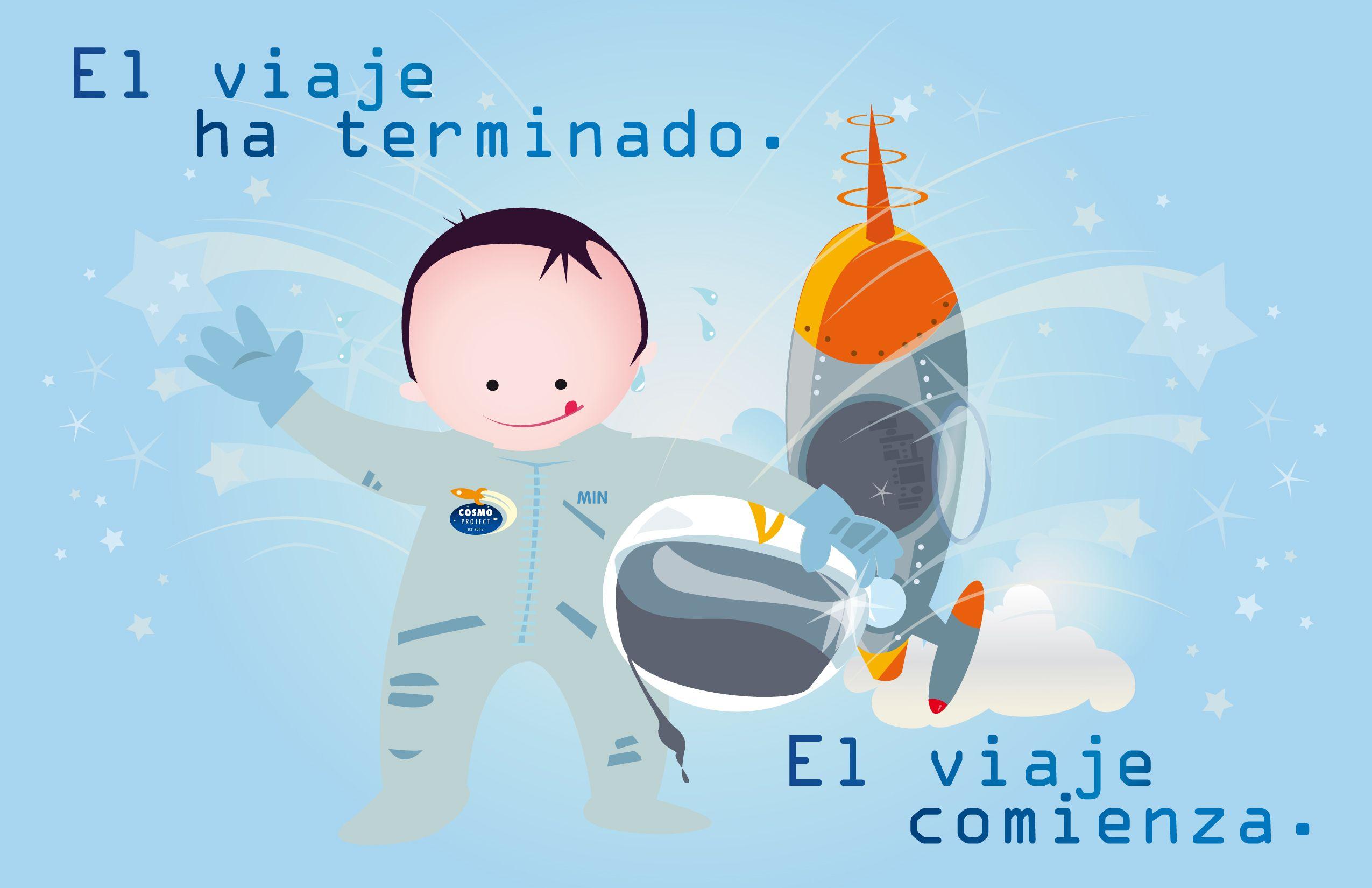 Greeting Card Baby Birth Tarjeta Felicitacin Participacin