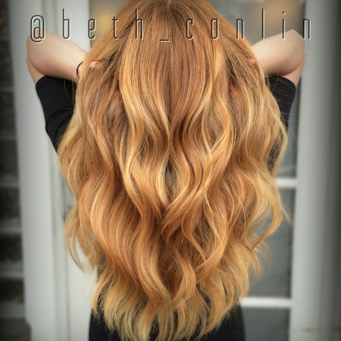 strawberry blonde balayage beth conlin hair beth conlin. Black Bedroom Furniture Sets. Home Design Ideas