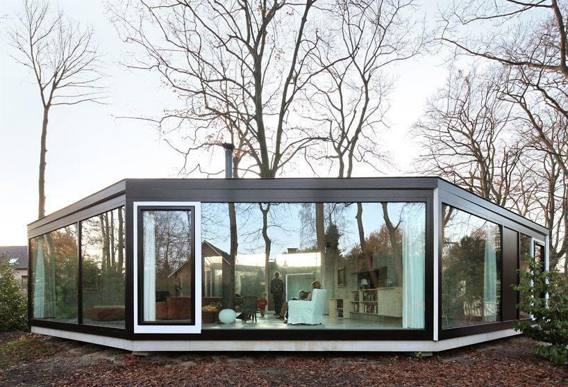 Architecten de vylder vinck taillieu house bm living for Modernes waldhaus