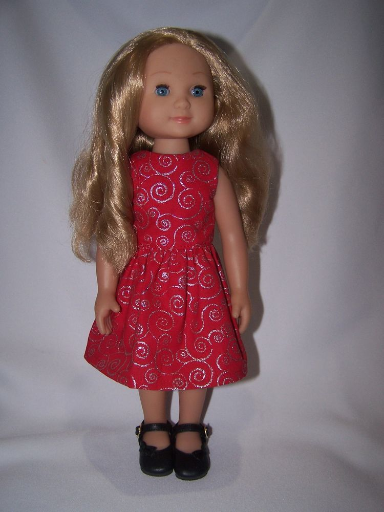 Clothes For 14 Doll Melissa Doug Victoria Celeste Red