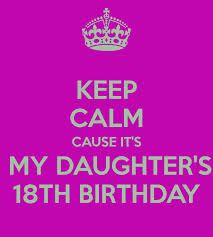 Happy 18th Birthday Daughter From Mom