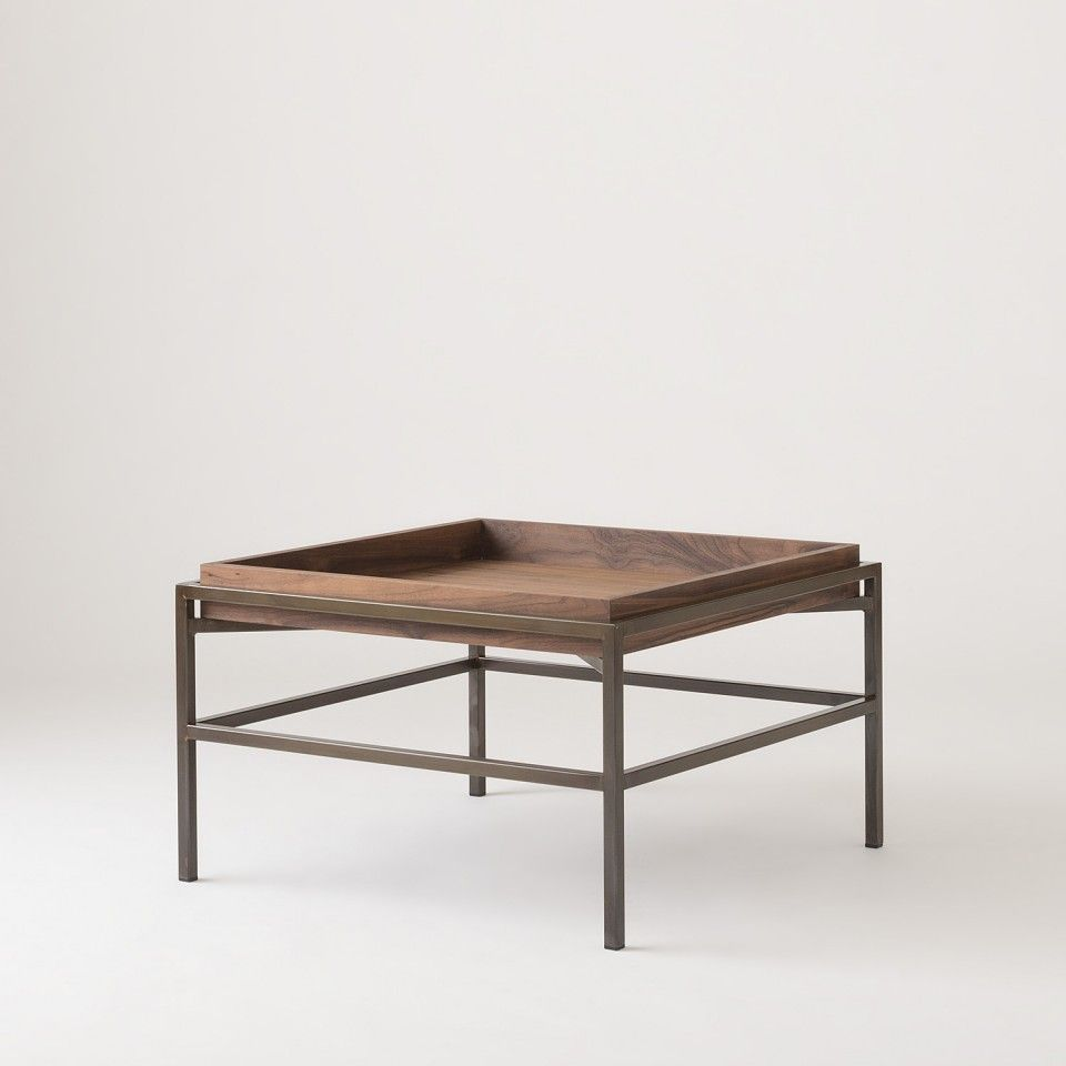 Hoyt Coffee Table Walnut Coffee Table Coffee Table Stand Accent Table [ 960 x 960 Pixel ]