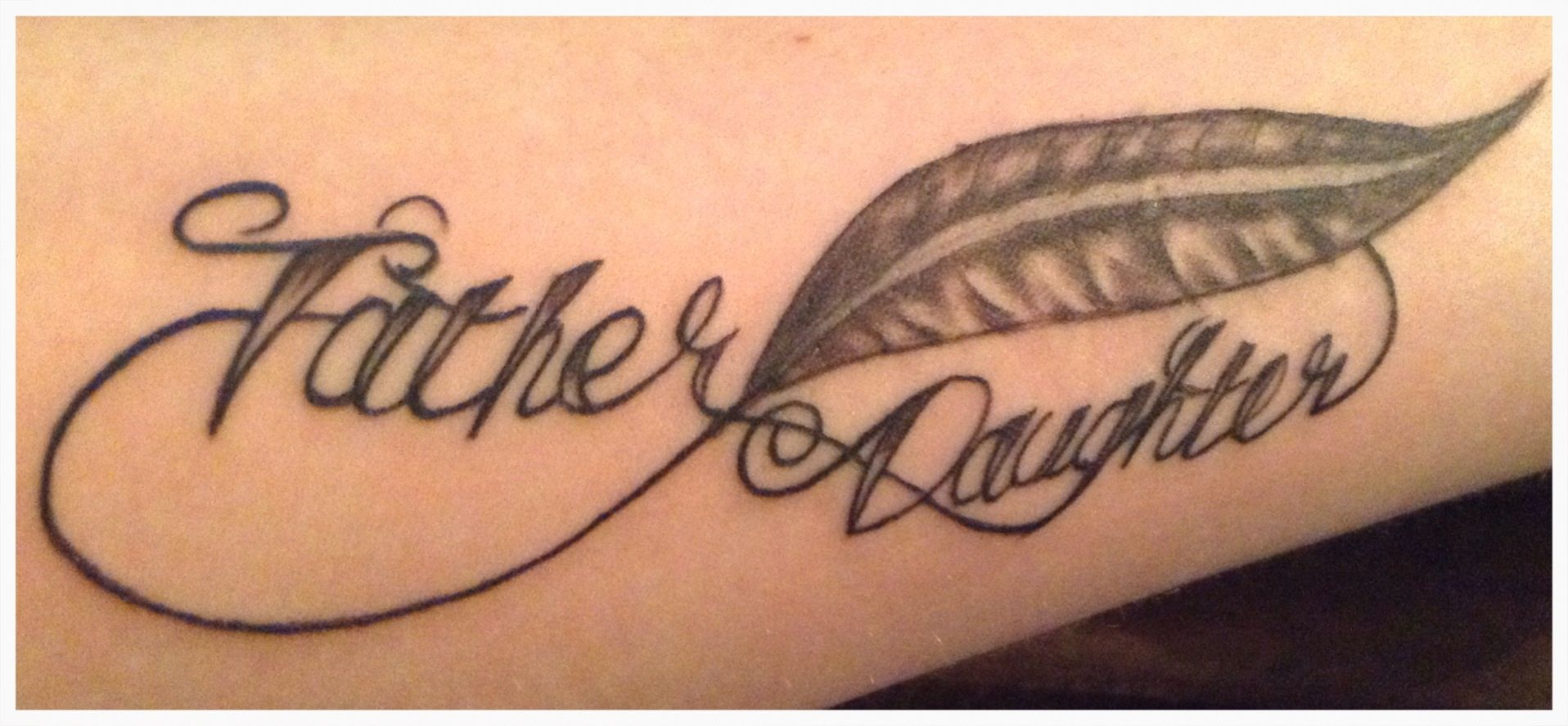 My father daughter tattoo … | Tattoo ideas | Tattoos for ...