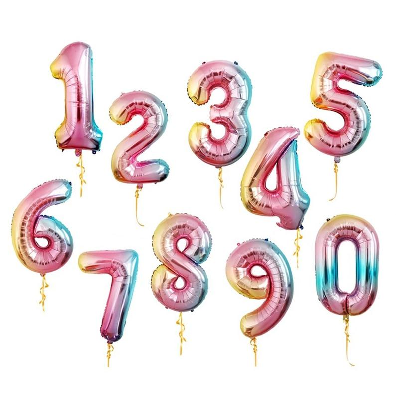 """32/"""" Giant Age 30 Foil No odor Number Balloon Banner Birthday Party Decor"""