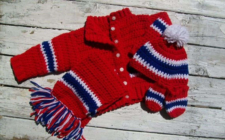 Boys hockey sweater set baby boy sweater sweater