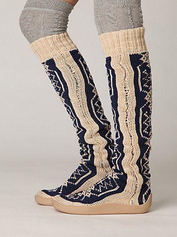 b8d5cc214 Gretta Over the Knee Slipper Sock