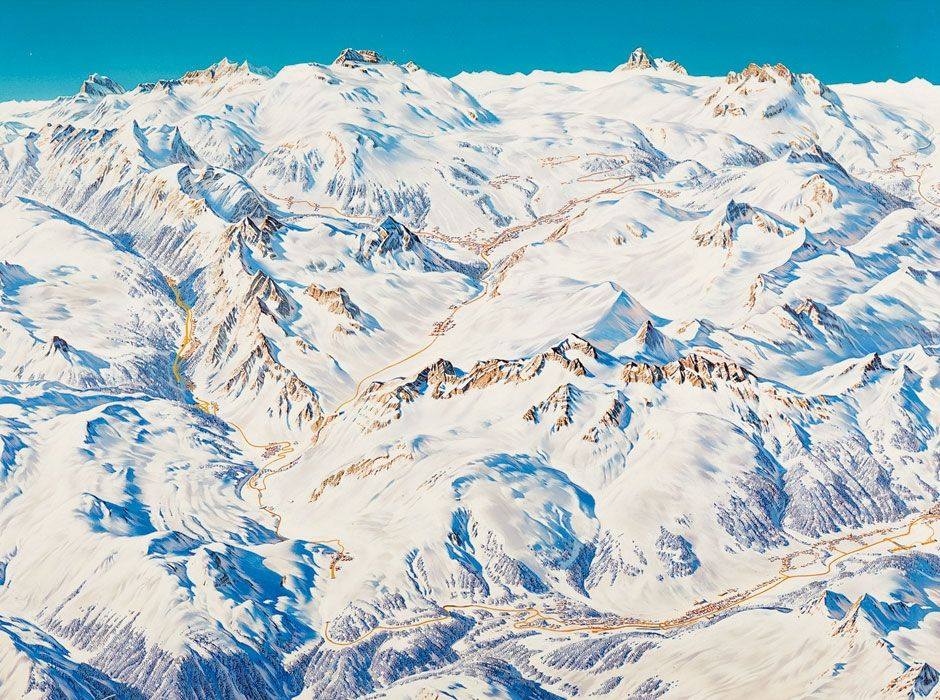 Die Meisten Ski Und Wanderpanoramen Die Weltweit In Gebirgen