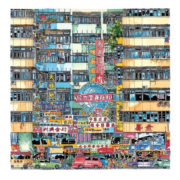 Hong Kong Art: Iain Anderson Scott - Hong Kong