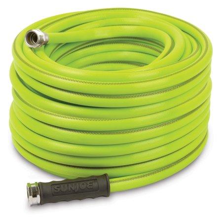 Aqua Joe 100 1 2 Inch Heavy Duty Garden Hose Green Garden Hose Water Garden Water Hose