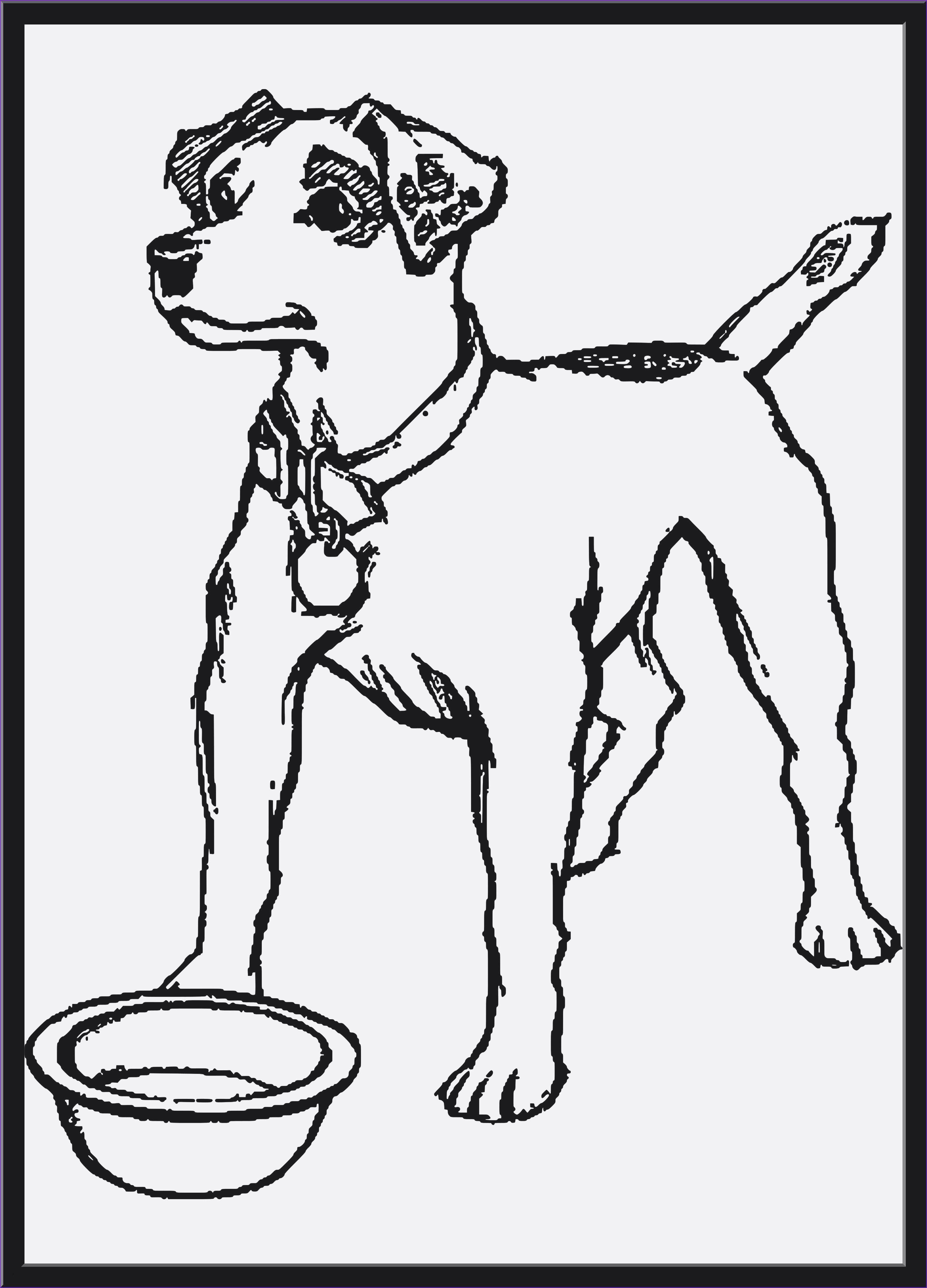 Neu Hunde Vorlagen Ausmalbilder Hunde Malvorlage Hund
