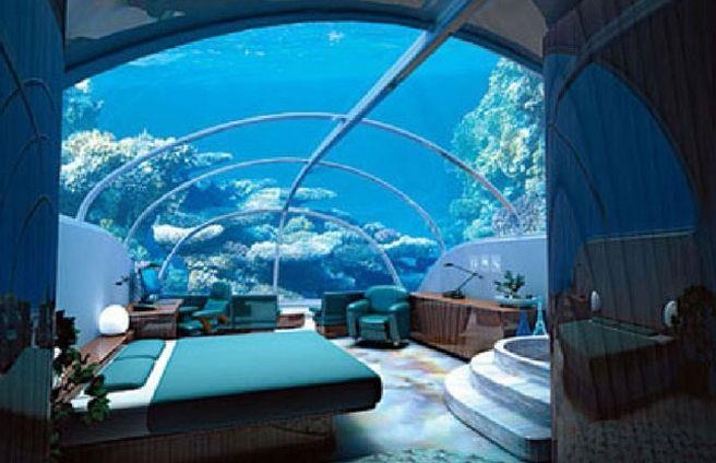 Poseidon Undersea Resort.