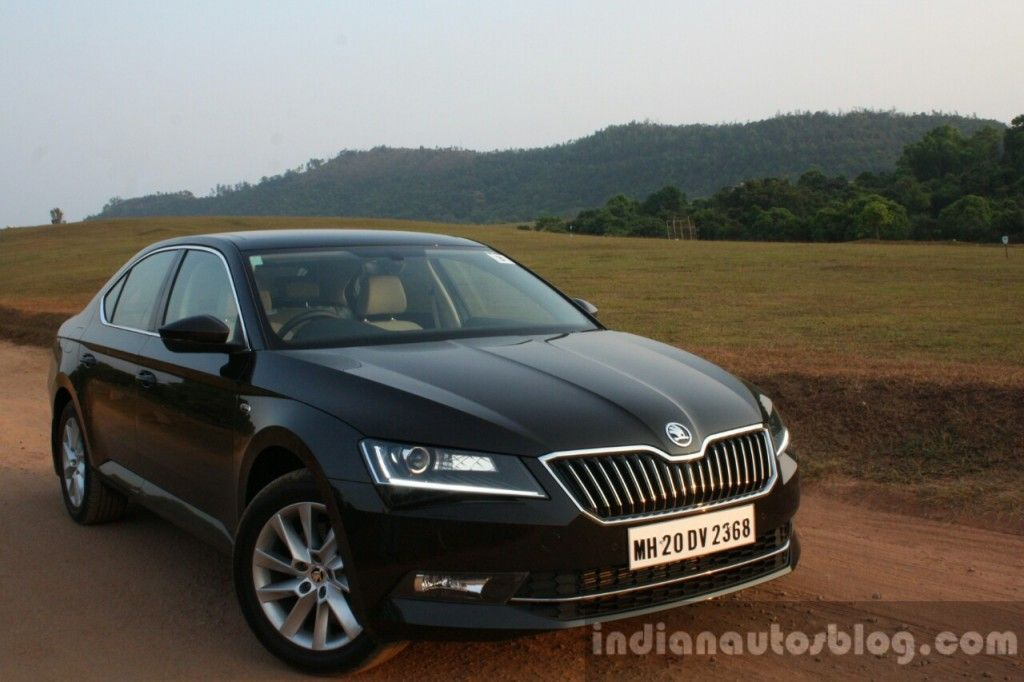 2016 Skoda Superb Laurin Klement First Drive Review First