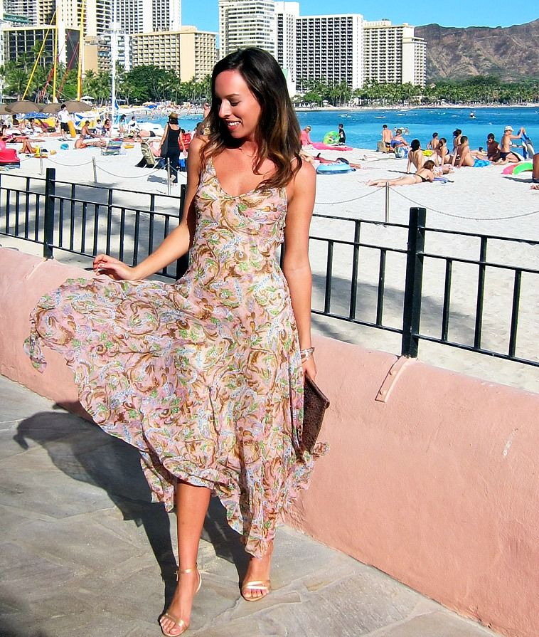 Chic Wedding Guest Attire : On the today what to wear a beach chic wedding