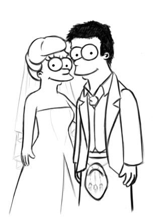 The Simpsons WIP by Hannah-hannah.deviantart.com on @deviantART