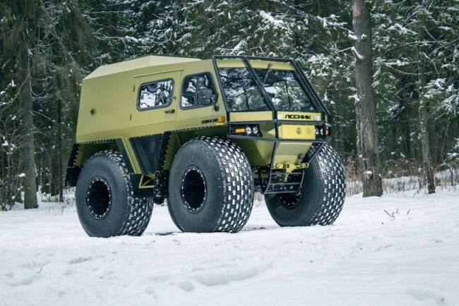 Russian Lesnik All Terrain Car Expedition Vehicle Vehicles