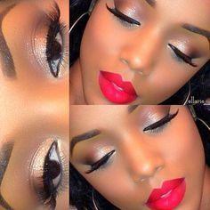 AFRICAN AMERICAN WOMEN #MAKEUP.......CHECK OUT MORE ON DAILY BLACK ...