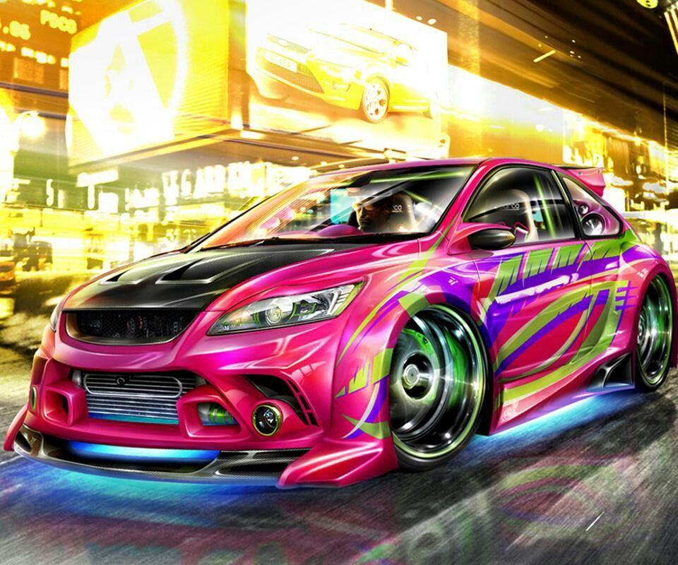 Colorful Car 1 =D