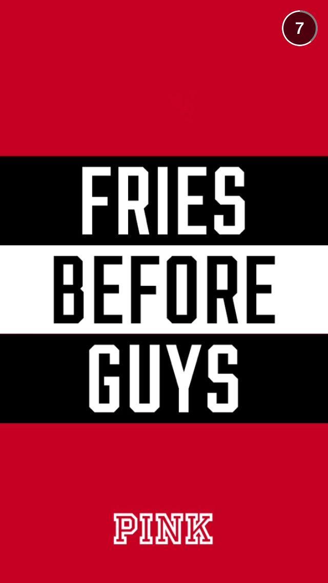 Fries before guys wallpaper pink Victoria secret pink