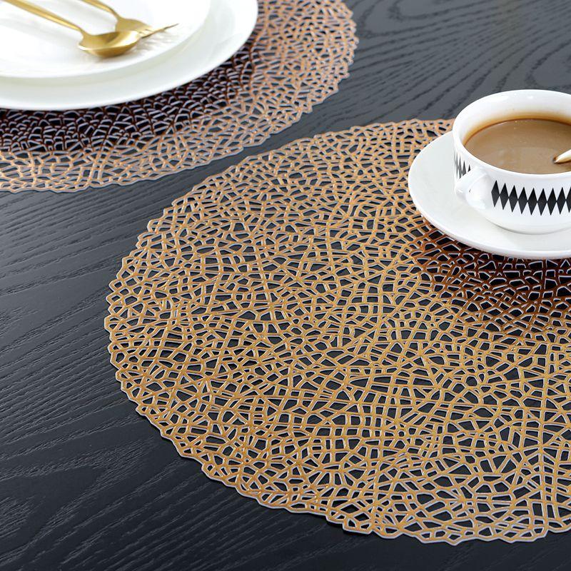 Copper Coloured Placemats Vinyl Copper Table Mats Manufacturer Sale Wantu Copper Table Placemats Coloring Placemats