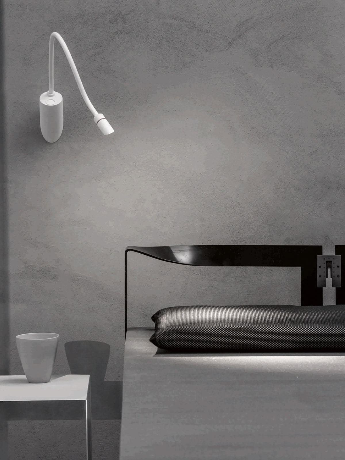 Schlafzimmer Nachttisch Leselampe