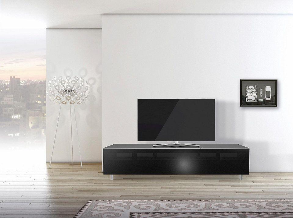 SPECTRAL TV-Lowboard »just-racks JRL1651S« mit stoffbespannter