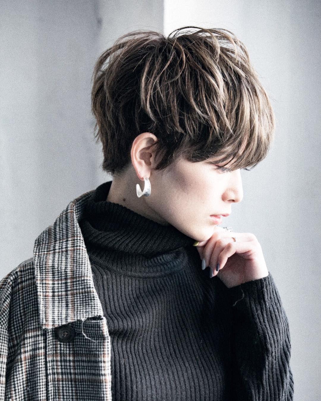 ショートボブ 渋谷美容師 ハイライト 土田哲也 On