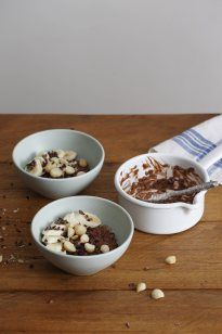 Don't ever let anyone tell you that you can't eat chocolate for breakfast, especially when it is combined with oats and nuts.  Why do we love oats? They contain soluble fibre (keeping u…