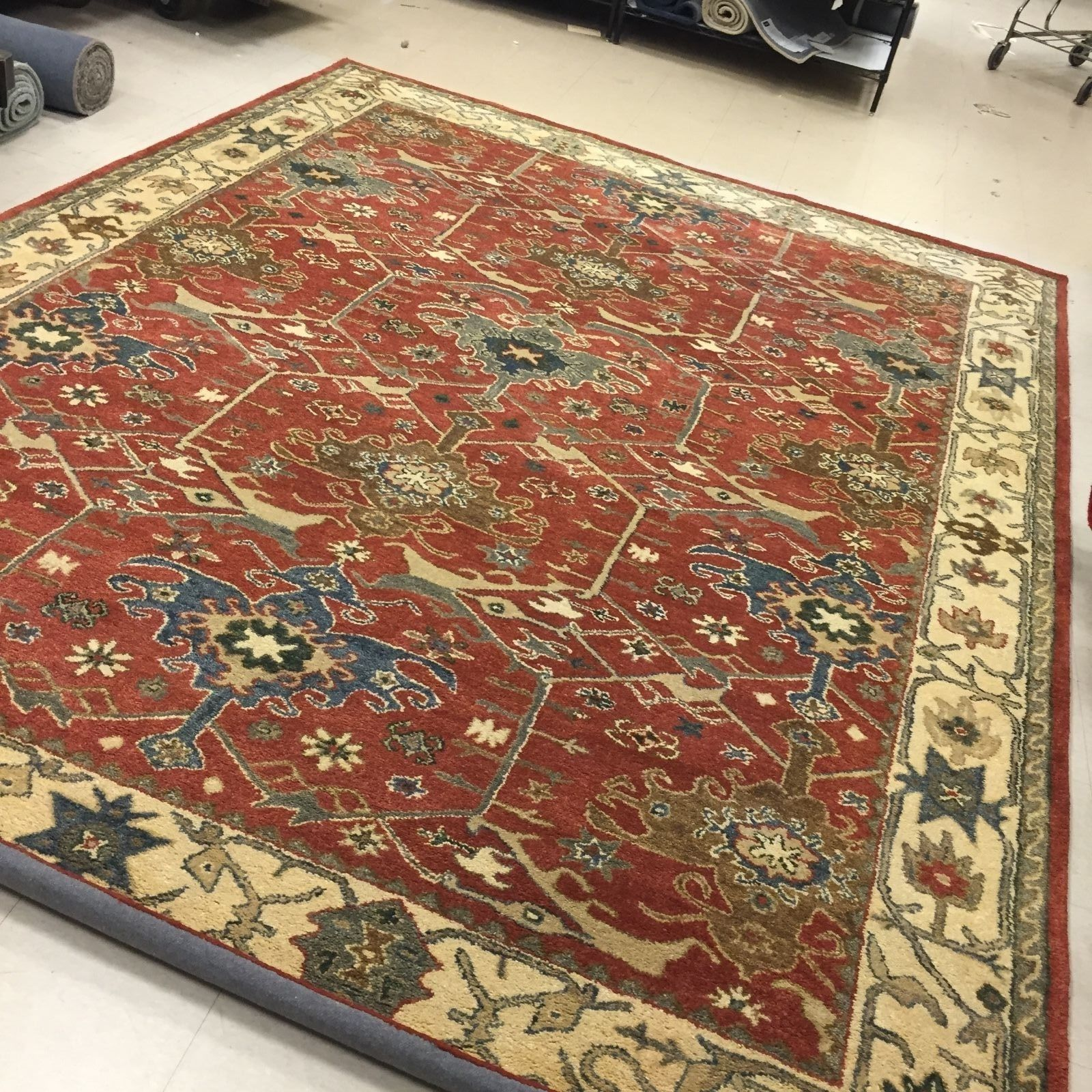 New Pottery Barn Channing Persian Style Rug 9 X 12 Nwt