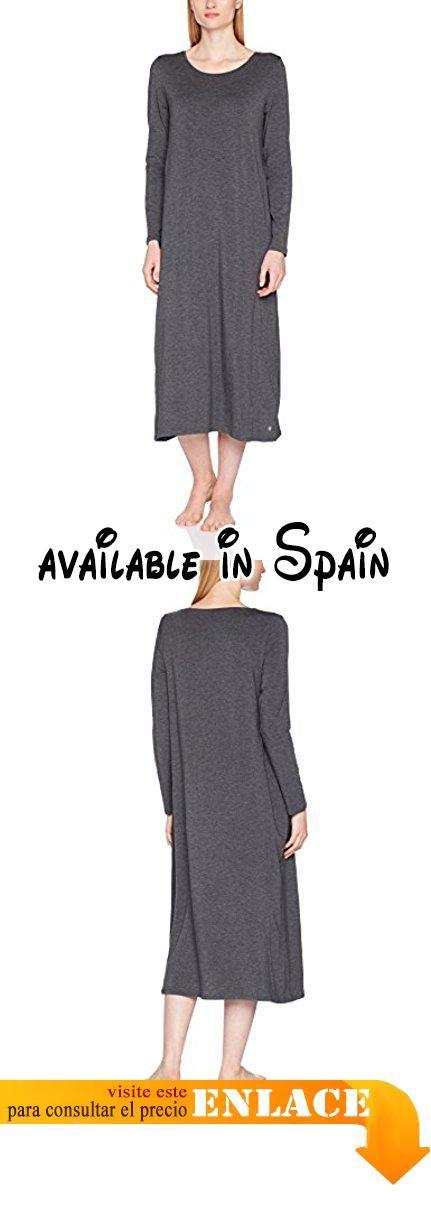 B0727R767Y   Marc O Polo Body   Beach Sleepshirt LS Camisón para Mujer Gris  ( c656d0254db
