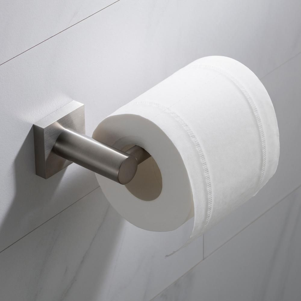 Kraus Ventus Bathroom Toilet Paper Holder In Brushed Nickel Kea