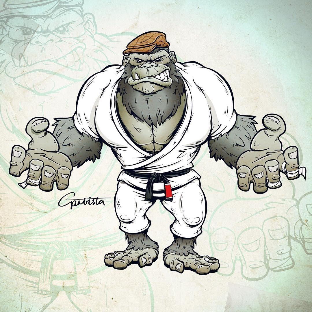 Image may contain: drawing | Jiu jitsu, Cool monsters, Sketches