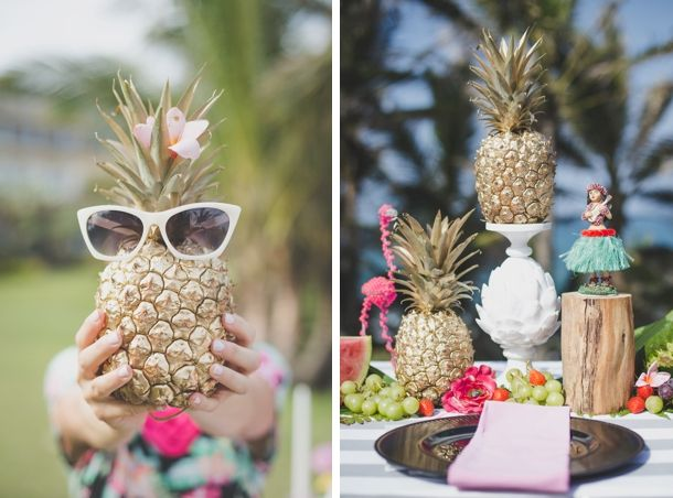 Tropical Bridal Shower: Tropical Heat Bridal Shower By Oh Happy Day, Kelly Daniels