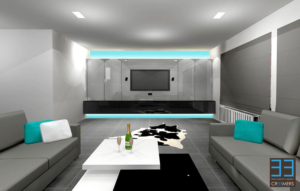 Tv meubel Genk interieur design maat meubel Ken Creemers | living ...
