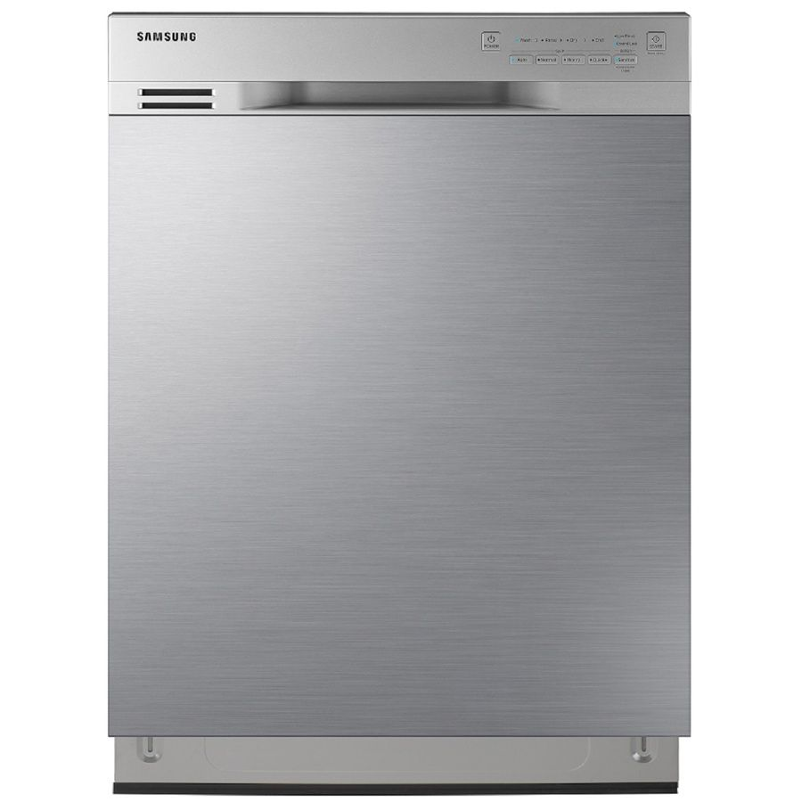 Samsung 50 Decibel Front Control 24 In Built In Dishwasher Stainless Steel Energy Star Lowes Com Built In Dishwasher Steel Tub Front Control Dishwasher