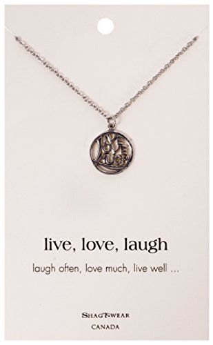 Shagwear inspirational quote pendant necklace circle live love laugh shagwear inspirational quote pendant necklace circle live love laugh pendant read more at the image aloadofball Gallery