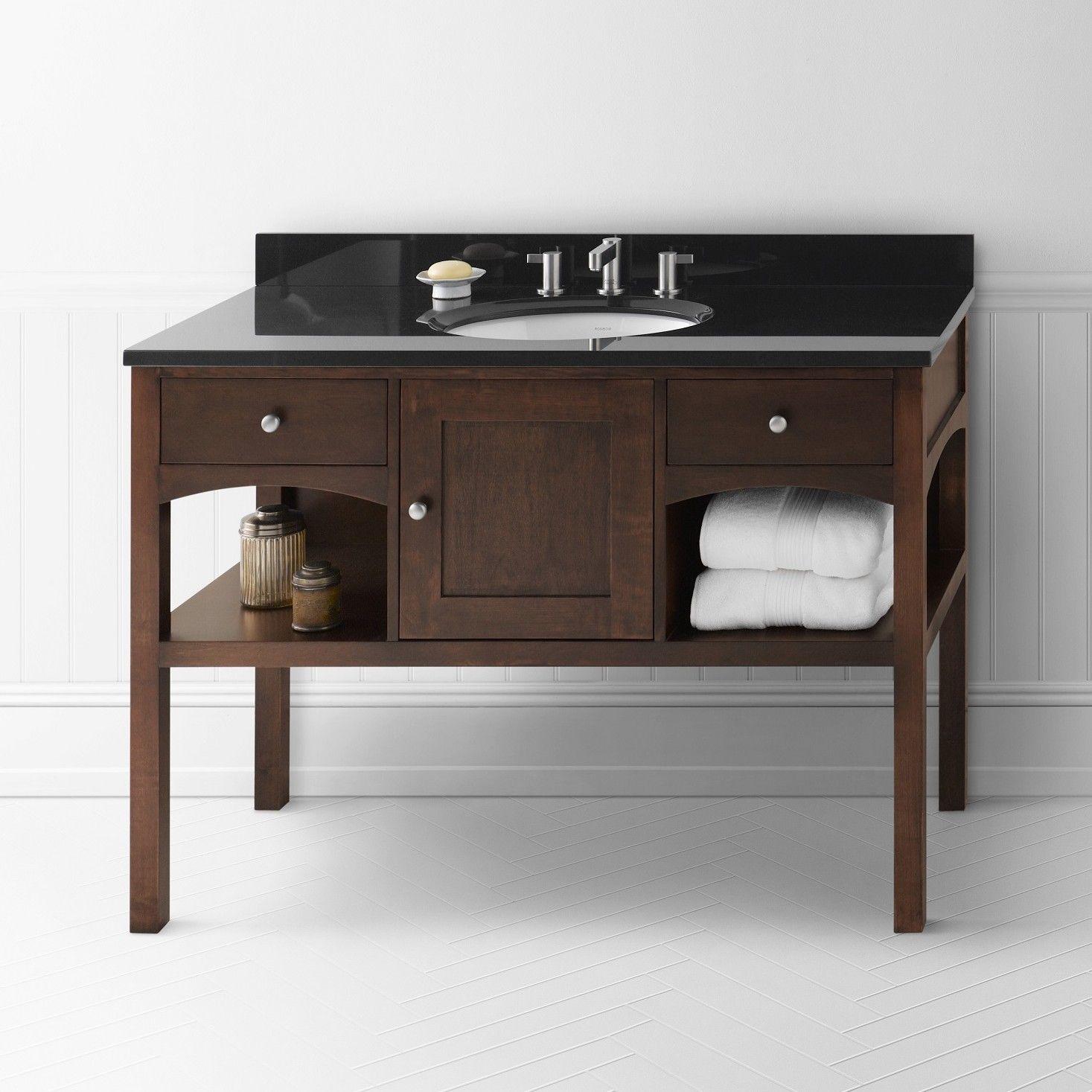 """Langley 48"""" Single Bathroom Vanity Set   Bathroom vanity ..."""