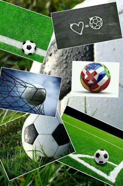 Soccer Collage : soccer, collage, Soccer, Collage, Soccer,, Ball,