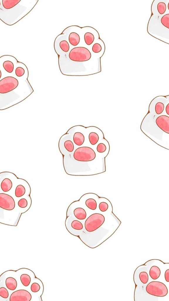 Paws Home Screen Cute Mobile Wallpapers Paw Wallpaper Mobile Wallpaper